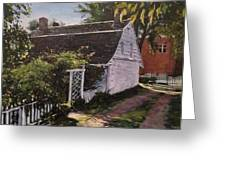 Onderdonk House  Garden Greeting Card by Victor SOTO