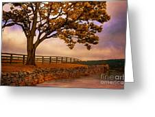 One Tree Hill Greeting Card by Lois Bryan