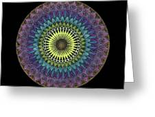 Oneness Greeting Card by Keiko Katsuta