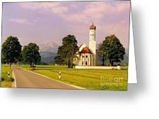 Onion Dome Church Greeting Card by John Malone