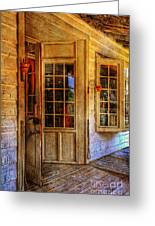 Open For Business Greeting Card by Lois Bryan