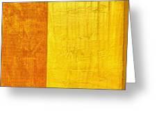 Orange Pineapple Greeting Card by Michelle Calkins