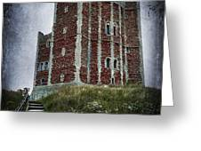 Orford Castle Greeting Card by Svetlana Sewell