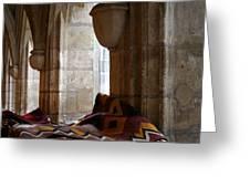 Oriental Rugs In Paris Greeting Card by A Morddel