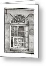 Original Art For Sale In Black And White Greeting Card by Brenda Bryant
