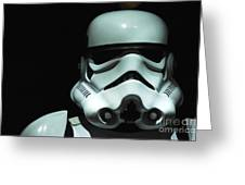 Original Stormtrooper Greeting Card by Micah May