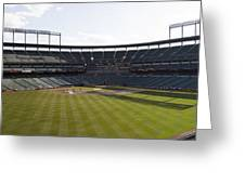 Oriole Park At Camden Yards Greeting Card by Darleen Stry
