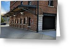 Oriole Park Box Office Greeting Card by Susan Candelario
