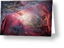 Orion Nebula M42 Greeting Card by Lucy West
