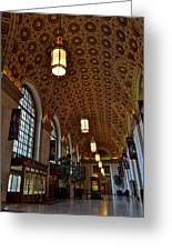 Ornate Entryway Greeting Card by Frozen in Time Fine Art Photography