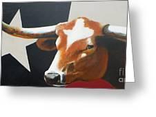 O'Texas Greeting Card by David Ackerson