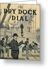 Our New Dry Dock Greeting Card by Edward Hopper