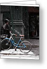 Out For An Ice Ride Greeting Card by Lar Matre