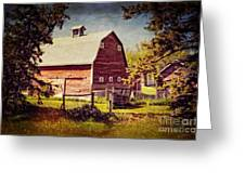 Out in the Country Greeting Card by Dorothy Pinder