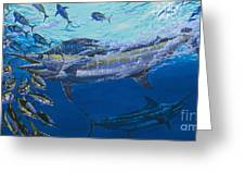 Out of the blue Off009 Greeting Card by Carey Chen