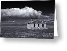 Outback Ruin Greeting Card by Mike  Dawson