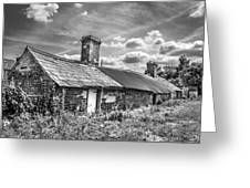Outbuildings. Greeting Card by Gary Gillette