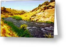 Owens River Valley Greeting Card by Glenn McCarthy Art and Photography