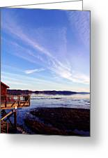 Oyster Flats Greeting Card by Pamela Patch
