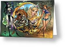 Oz 01a Greeting Card by Zenescope Entertainment