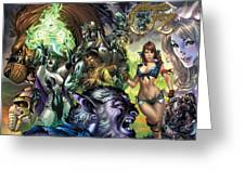 Oz 01k Greeting Card by Zenescope Entertainment