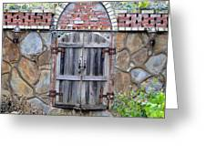 Ozark Gate Greeting Card by Jan Amiss Photography