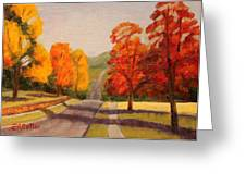Ozarks October Greeting Card by Ruth Soller