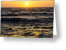 Pacific Reflection Greeting Card by CML Brown