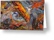 Paint Number 44 Greeting Card by James W Johnson