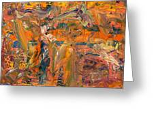 Paint Number 45 Greeting Card by James W Johnson