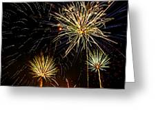 Paint The Sky With Fireworks  Greeting Card by Saija  Lehtonen