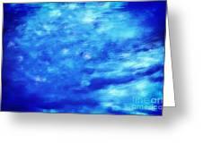 Painting Of Water Background Greeting Card by Michal Bednarek