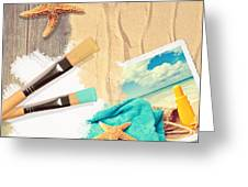 Painting Summer Postcard Greeting Card by Amanda And Christopher Elwell