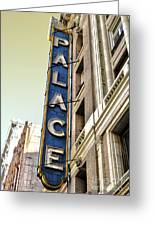 Palace Theater In Downtown Los Angeles Greeting Card by Gregory Dyer
