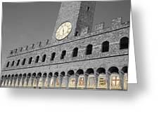 Palazzo Vecchio At Florense Greeting Card by Aleksandar Hajdukovic