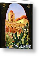 Palermo Greeting Card by Pg Reproductions