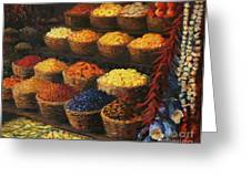Palette Of The Orient Greeting Card by Kiril Stanchev