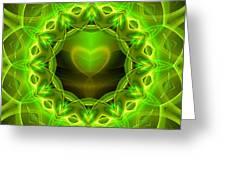 Palm Love Gift Greeting Card by Hanza Turgul