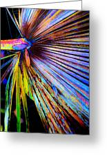 Palmetto Gone Wild Greeting Card by Stephen Anderson