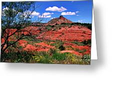 Palo Duro Canyon State Park Greeting Card by Thomas R Fletcher