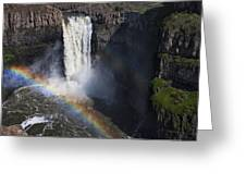 Palouse Falls II Greeting Card by Mark Kiver