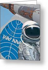 Pan Am Greeting Card by Scott Listfield