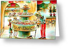 Pan Dulce Greeting Card by Heather Calderon