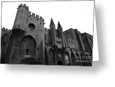 Papal Palace Greeting Card by John Rizzuto