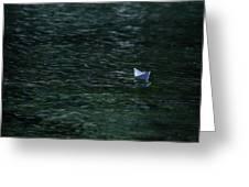Paper Boat Greeting Card by Joana Kruse