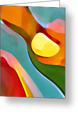 Paradise Found 7 Greeting Card by Amy Vangsgard