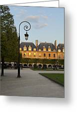 Parc Louis Xiii Greeting Card by Art Ferrier