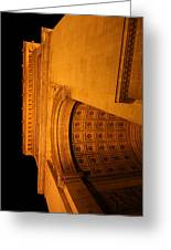 Paris France - Arc De Triomphe - 01132 Greeting Card by DC Photographer
