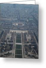 Paris France - Eiffel Tower - 01136 Greeting Card by DC Photographer