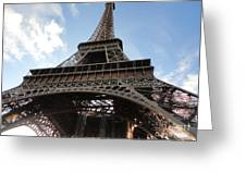 Paris France Greeting Card by Gregory Dyer